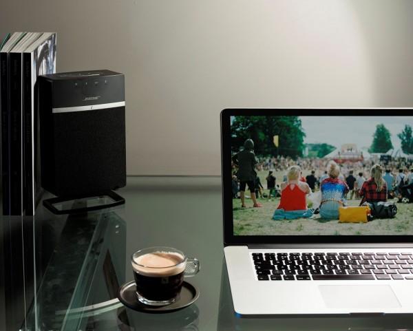 Deskstand für Bose SoundTouch 10 schwarz