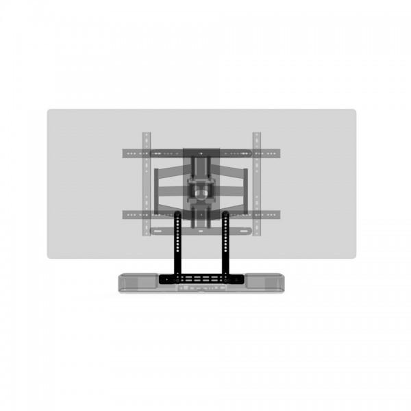 SoundXtra SDXDH550TVM1021 TV-Halter für Denon Home 550 Soundbar Schwarz