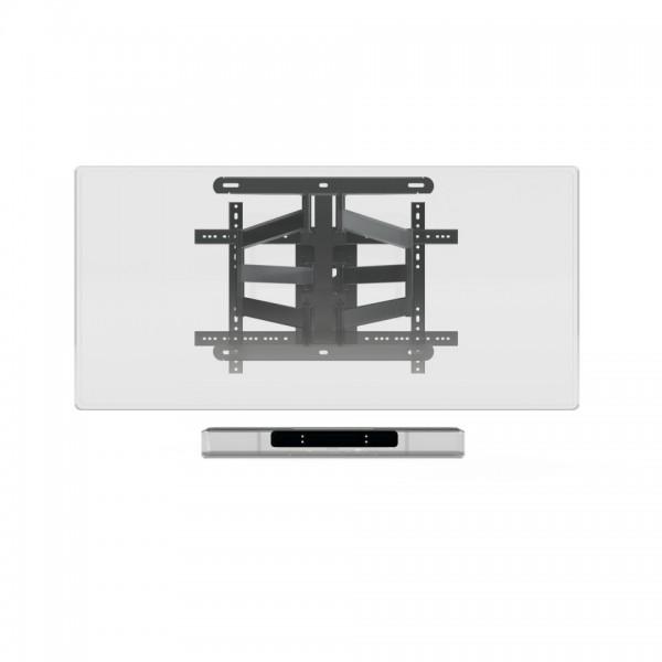SoundXtra SDXDH550WM1021 Wandhalter für Denon Home 550 Soundbar Schwarz