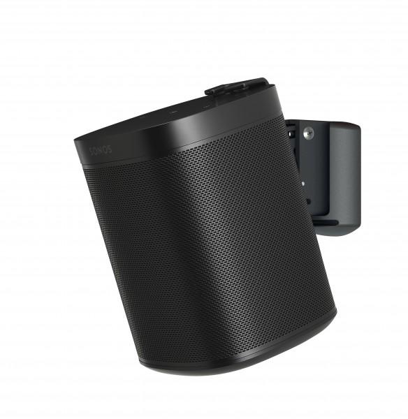 Soundxtra SDXS1WM1021 Wandhalter für Sonos One / One SL / Play:1 Schwarz